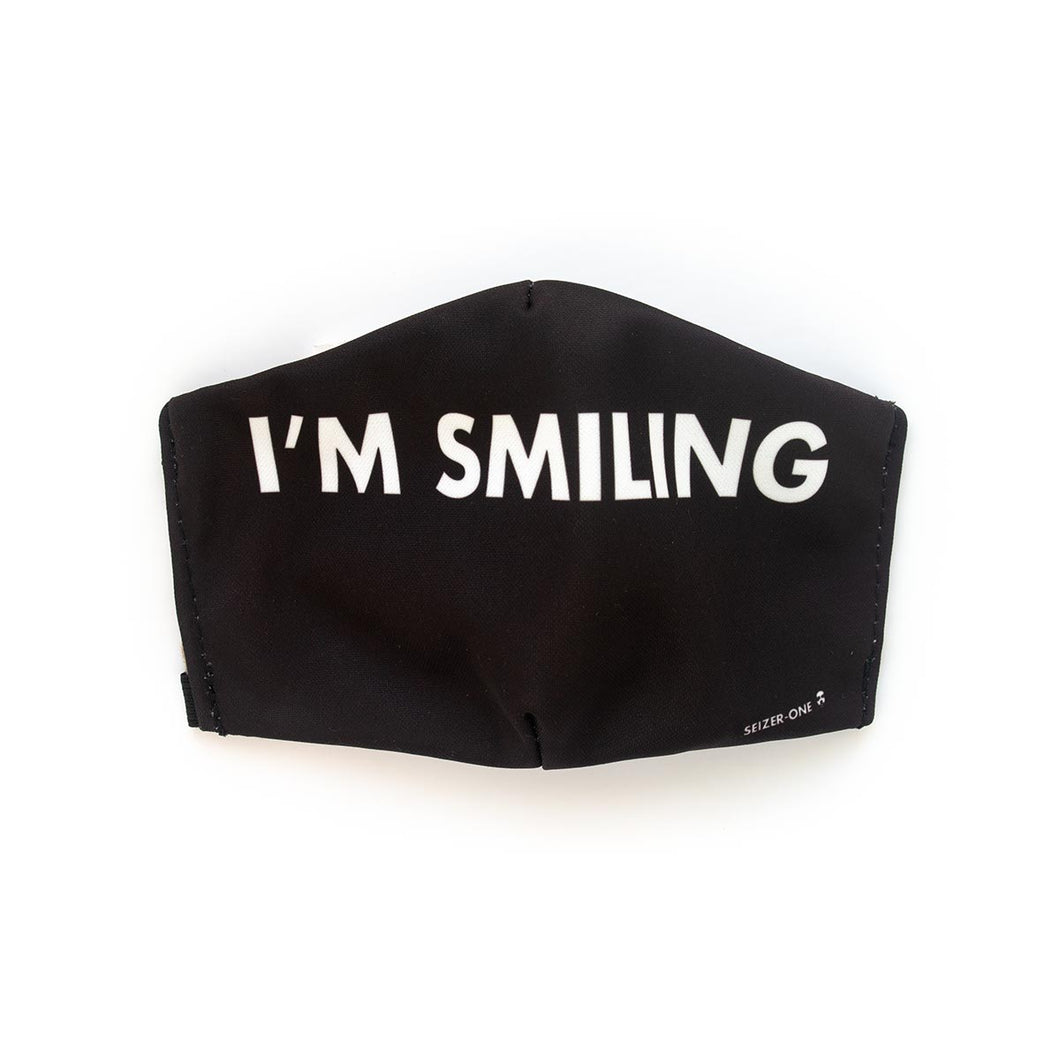 Smiling by Seizer-One: Art Print Face Mask