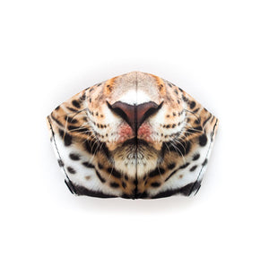 Leopard by Chris Mountain: Art Print Face Mask- Child