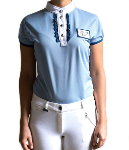 Equestrian Competition Shirt Blue