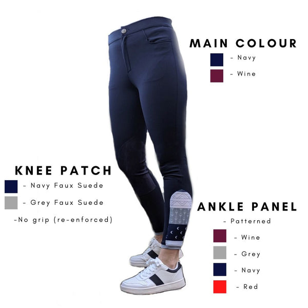 Custom Breeches - Navy