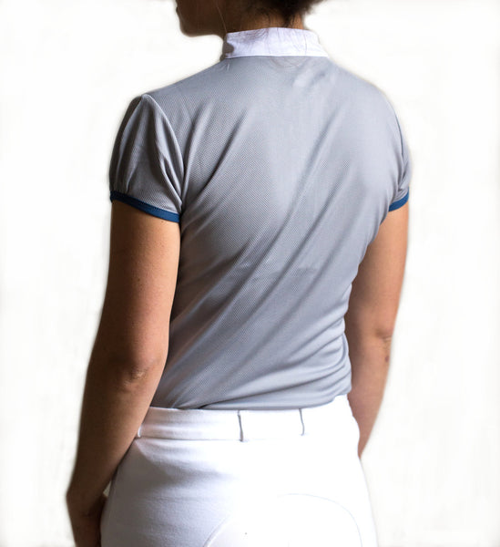 Equestrian Competition Shirt Grey