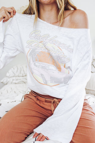 California Dreaming Bell Sleeve Top