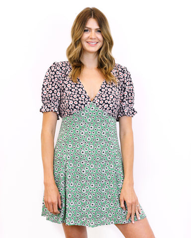 Dual Daisy Dress
