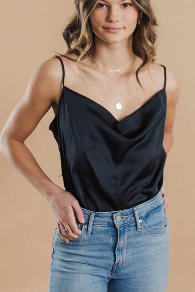 Madison Cowl Neck Bodysuit