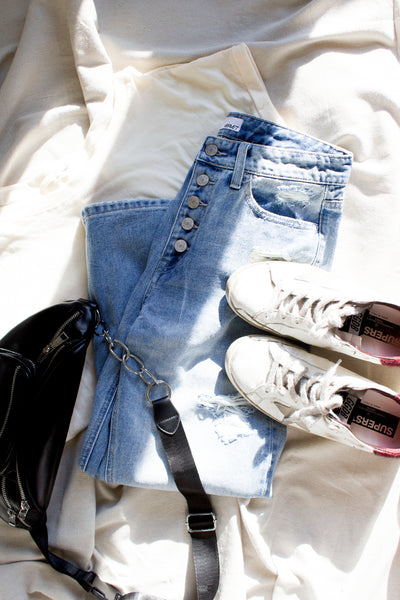 Molly Distressed Denim