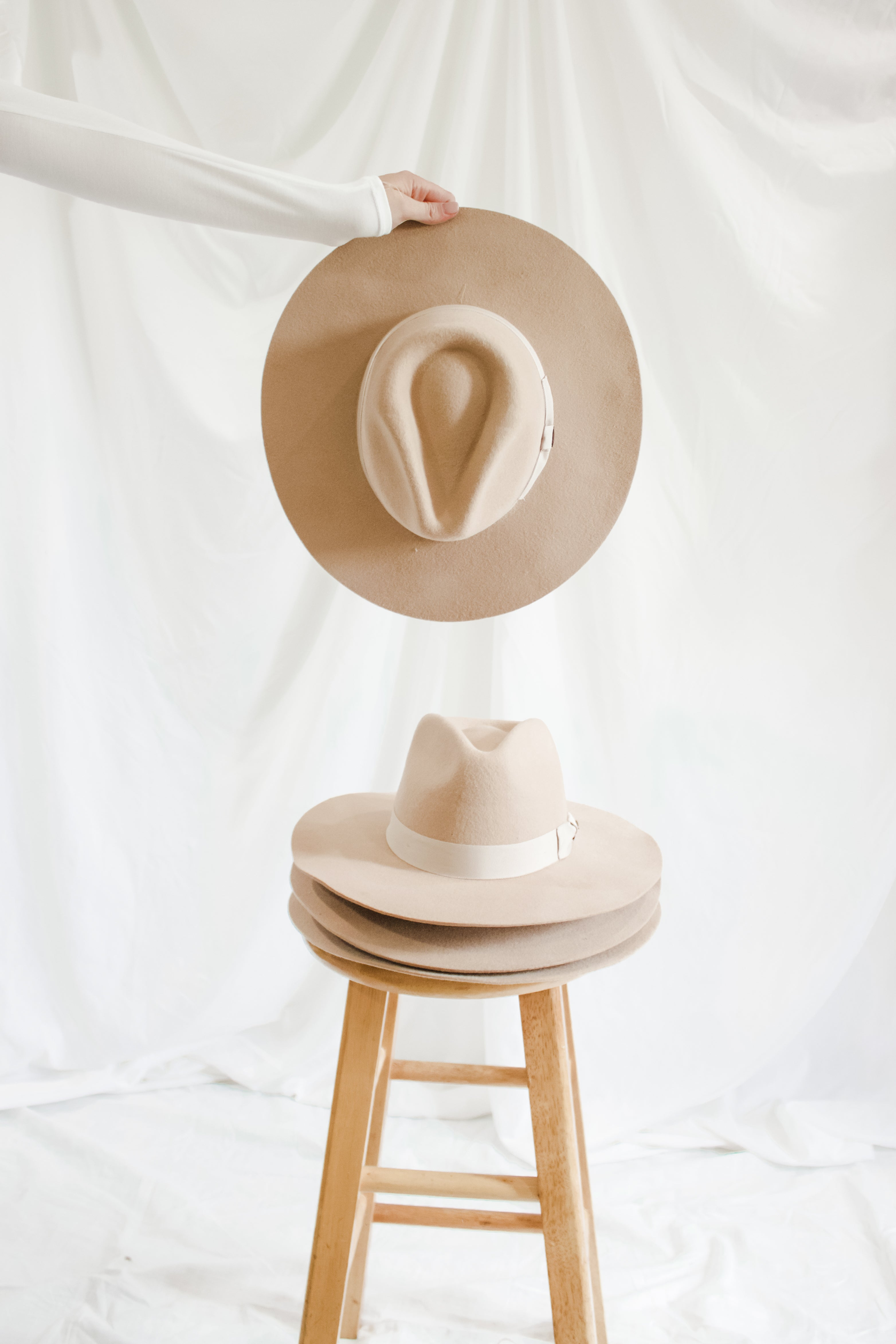 ROE + RAE Wide Brim Hat