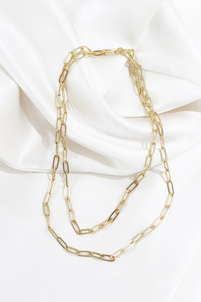 Sabrina Double Link Necklace