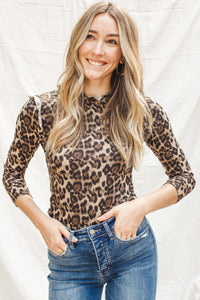 Liza Cheetah Top