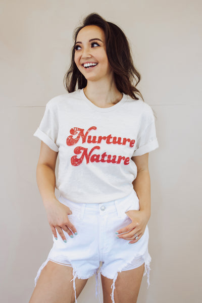Nuture Nature Graphic Tee