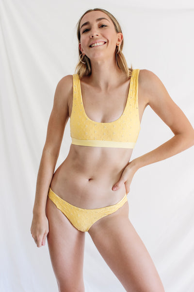 Sunshine Eyelet Two Piece