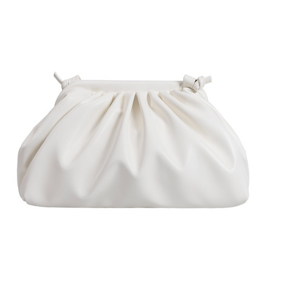 Tinsley Crossbody/Clutch WHITE