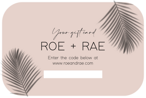 Give the Gift of ROE + RAE
