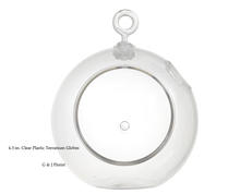 Load image into Gallery viewer, 4.5-in. Clear Plastic Terrarium Globes - G & J Florist