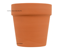 Load image into Gallery viewer, 5.125-in. Terra-Cotta Clay Pots - G & J Florist