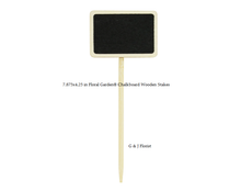 Load image into Gallery viewer, Floral Garden Chalkboard Wooden Stakes - G & J Florist
