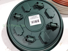 将图片加载到图库查看器,11.5 inch Plastic Planter Trolley with 4 wheels (color: Green, Gray, Terracotta) - G & J Florist