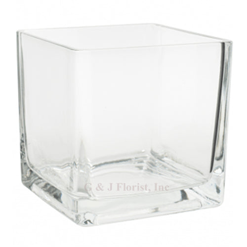 Square Clear Glass Vases collections - G & J Florist