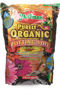 Hoffman/ 12504 / Purely Organic Potting Mix Soil Conditioner, 4-Quart - G & J Florist