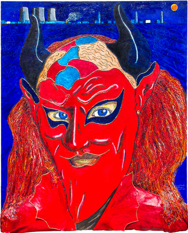 Devil from Venice (30x37)