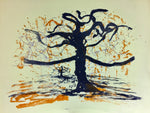The orange dripping tree