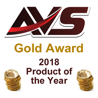 audio video show room gold award product of the year 2018