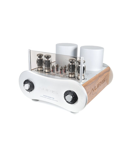 Fortissimo is a integrated stereo tube amplifier in push pull technologu with KT-120 tubes which allows you 100 W rms per channel