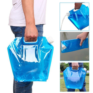 Practical 5L Portable Folding Water Storage Bag