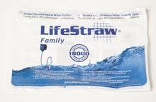 Load image into Gallery viewer, LifeStraw Family 1.0 Portable Gravity Powered Water Purifier for Emergency Preparedness and Camping