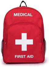 Load image into Gallery viewer, Jipemtra First Aid Backpack Empty Medical First Aid Bag