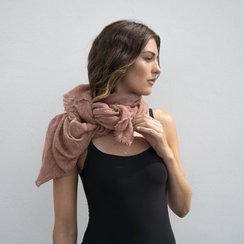 Luxury Foggy Rose - Natura Cashmere