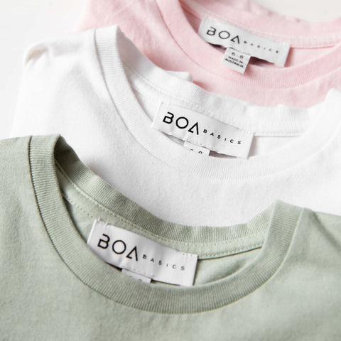 Kids Tees Boa Basics