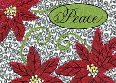 Peace and Poinsettias - PF-3315