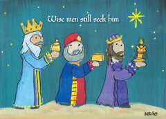 Three WIse Men card front