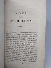 Load image into Gallery viewer, Napoleon In Exile; Or A Voice From St Helena, 1827