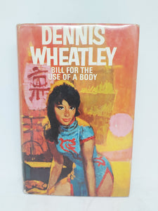 Bill for the Use of a Body, 1964. First Edition