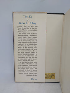 The KA of Gifford Hillary, 1956. First Edition