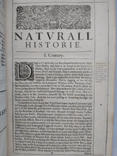 Load image into Gallery viewer, Sylva Sylvarum: or, a natural historie. Bound with New Atlantis, A Worke Unfinished, 1639
