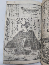 Load image into Gallery viewer, Ogura Hyakunin Isshu, late Edo period