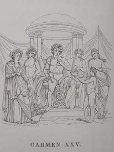 Quinti Hotatii Flacci Opera. Or, The Works of Horace, written in the original Latin, 1853