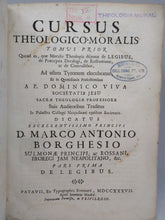Load image into Gallery viewer, Cursus Theologico-Moralis, Tomus Prior and Tomus Posterior, 1737