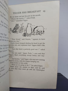 The House at Pooh Corner, 1928. First Edition, First Printing