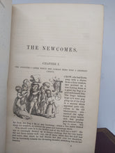 Load image into Gallery viewer, The Newcomes, by William Makepeace Thackeray, 1854-55. First Edition
