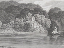 Load image into Gallery viewer, Cotele Chapel, on the River Tamar, Devonshire, 1809. Small Print