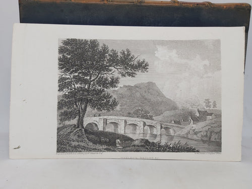Matlock Bridge & c, Derbyshire, 1802. Small Print