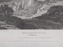 Load image into Gallery viewer, Middleton Dale, Derbyshire, 1806. Small Print