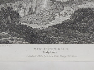 Middleton Dale, Derbyshire, 1806. Small Print