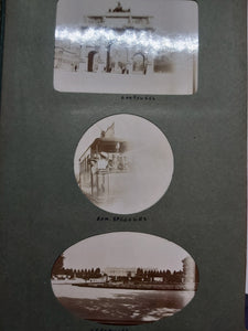 An early 20th century photo album of travels in France, 1909