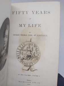 Fifty Years of My Life, 1876. First Edition