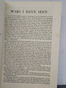 Wars I Have Seen, 1945. 1st Edition