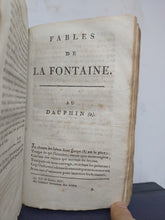 Load image into Gallery viewer, Fables De la Fontaine Nouvelle Edition, Plus Complete Que Les precedentes, 1800. Tome Premier